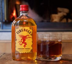 Fireball Cider Cocktail Recipes, Whats Cooking America. Enjoy these sweet and fiery Fireball Cider Cocktail recipes made from apple cider and Fireball cinnamon Fireball Mixed Drinks, Fireball Cocktails, Fireball Recipes, Whiskey Recipes, Cider Cocktails, Drinks Alcohol Recipes, Drink Recipes, Vitamin E, Cocktails