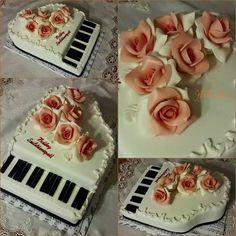 Zongora torta - kicsit másképp ;)