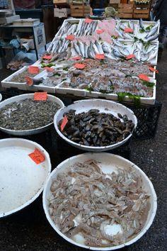 Naples fish stall