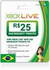 Xbox Live BR Gift Card - Xbox Live Gift Card (BR) allows instant access to a vast selection of downloadable content, including games and add-ons, high-definition movies and TV shows, sports and more, right on your Xbox One, Xbox 360 or Windows Phone 8.