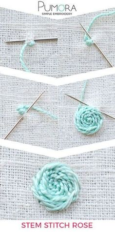 Look what I pinned > Embroidery Stitches For Trees #repin