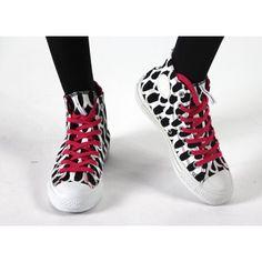 Converse Chucks Hi Marimekko White Black Pink