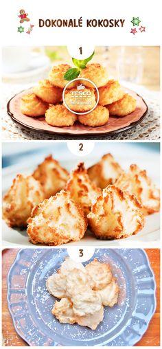 Vyberte si ten pravý recept na Kokosky pro Vaší rodinu!