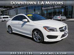 Certified Used 2014 Mercedes-Benz CLA-Class CLA250 FWD Sedan in Los Angeles
