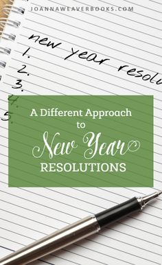 """When it comes to New Year resolutions, it's easy to set yourself up to fail.   In today's blog post, I focus on """"A Different Approach to New Year Resolutions."""" God is having me focus on a few """"don'ts"""" rather than a massive list of """"dos.""""   So freeing!  http://joannaweaverbooks.com/2017/01/04/different-approach-new-year-resolutions/"""