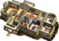 Denah rumah 3 kamar (5)