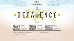 Lindemans Wine by Marshall J. Downey, via Behance