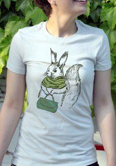 Frumpy Bunny Funny Tshirt by babbletees on Etsy, $15.00