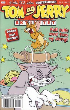 GCD :: Cover :: Tom og Jerry Aktivitetshefte; Tom og Jerry Aktivitet #6/2015 Tom Og Jerry, Looney Tunes, Lego Star Wars, Toms, Barn, Comic Books, Funny, Cover, Converted Barn