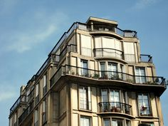 Apartment building, by Auguste Perret 1929, rue Raynouard  51, Paris, France.