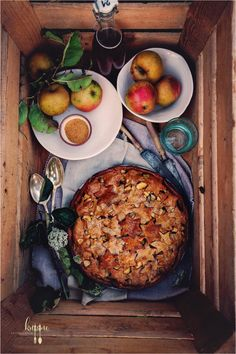Apple Pie mit Kastanienmehl