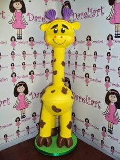 Dareliart: Girafinha da Turma da Galinha Pintadinha - Encomen...