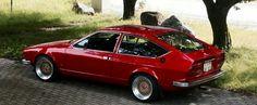 Alfa Romeo Alfetta GTV - the 1970's never looked so good!