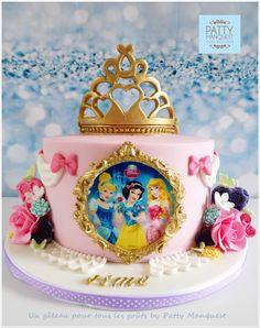 3 tier pastel princess cake with handmade rose – Artofit Disney Princess Birthday Cakes, Disney Birthday, Birthday Cake Girls, 4th Birthday, Princess Birthday Centerpieces, Princess Theme Cake, Birthday Ideas, Disney Cakes, Disney Cake Pops
