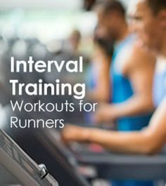 Take your running workouts to the next level with these interval training plans you can use outdoors or on the treadmill.  | via @SparkPeople #fitness #exercise #run