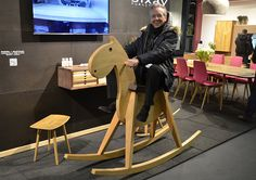 PARIPA / MUSTANG bigKID - Schaukelpferd für grosse Kinder - sixay furniture