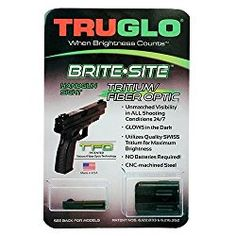 The TRUGLO TFO handgun sights use our patented technology. Unbelievable transition through all light conditions. Concealed fiber cannot be seen by target. Glock Sights, Archery Sights, Night Sights, Fiber Optic, Hand Guns, Conditioner, Technology, Digital, Cnc Machine