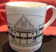 Shakespeares-Globe-Theatre-Bone-China-Teacup-Coffee-Mug-Made-England
