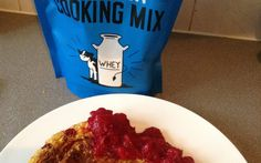 Orange & Cranberry Protein Pow Pancakes