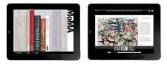 MoMA Books for the iPad    A growing number of MoMA's publications are now available for the iPad in two different ways.