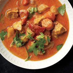 Thai Chicken Curry Recipe - Epicurious & ZipList