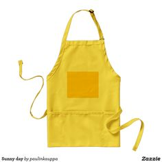Sunny day adult apron