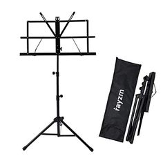 Rayzm Stand/Atril para partituras plegable y portátil con bolsa de transporte, altura ajustable, Peso máximo 1.5Kg, L... Sheet Music Stand, Sheet Music Book, Ex Libris, Information About Japan, Book Holders, Book Stands, Partition, Japan Post, Weights