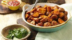 Seasoned Roasted New Potatoes