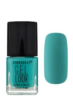 A gel nail polish in a mint shade. Forever 21 Accessories 10d5b1f46b5