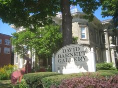 Long before this mansion became the David Barnett Gallery it was home to the Button family and for a time William F. Pabst