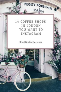 14 COFFEE SHOPS IN LONDON YOU WANT TO INSTAGRAM. Click through to see 65 more Instagram-worthy locations.