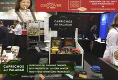 ¿Sabías qué Caprichos del Paladar también está presente en la feria Winter Fancy food de San Francisco (USA) ?