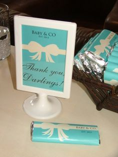 Breakfast at Tiffany's Baby Shower Party Ideas | Photo 7 of 58 | Catch My Party
