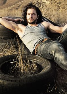 "amarling: "" Kit Harington for Rolling Stone, 2014 """