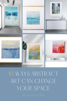Abstract Art For Sale, Abstract Wall Art, Contemporary Landscape, Landscape Art, Live Art, Modern Art Paintings, Art Decor, Original Art, Gallery Wall