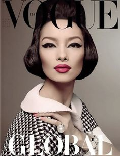 Chinese model Liu Wen may have landed on Vogue's Top 10 models list, but it's another Asian supermodel making history. Fei Fei Sun or Fei Fei for sure is now a pioneer with her January 2013 cover for Italian Vogue.
