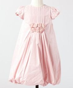 Take a look at this Ballet Pink Flower Girl Dress - Toddler & Girls by Down East Basics Girls on #zulily today!