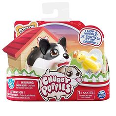 Chubby Puppies Single Dog Puppy Toy Boston Terrier for sale online Chubby Puppies, Toy Puppies, Dogs And Puppies, Baby Girl Toys, Toys For Girls, Toys R Us, Kids Toys, Boston Terrier For Sale, Carnival Of The Animals