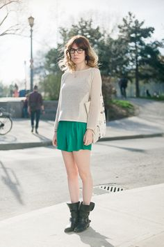 Celia Durury. Repéré à Toronto par Barbora Simkova.