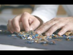 The Real Artisans Behind Paris' Haute Couture | Glam Presents - YouTube