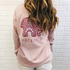 Ivory Ella pink shirt
