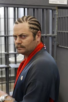 For one day, like Ron Swanson here, I will have cornrows...but unlike him, I will look horrible in them. projects