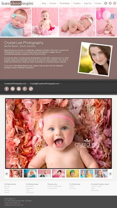 LSI Pro Member: Crystal Lee Photography in Myrtle Beach, South Carolina