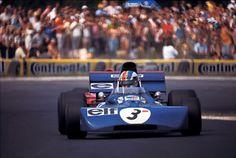 François Cevert, Tyrrell-Ford 002, 1971 German Grand Prix, Nürburgring