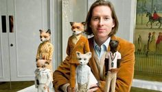 Wes Anderson and the Fantastic Mr Fox family.