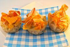 Kippakketjes met appel en witte ui - Lekker en Simpel