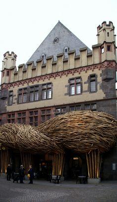 Steinernes Haus am Römerberg, Frankfurter Kunstverein, Frankfurt am Main, Altstadt, Hesse_ Germany