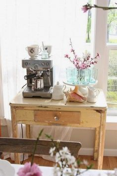 como criar ou decorar um cantinho do café na sua casa, muitas  fotos com inspirações