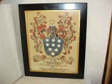 BAILEY Family Coat of Arms Watercolor Painting