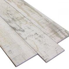 Bodenfliesen Holzoptik Vintage Weiss 15x90cm